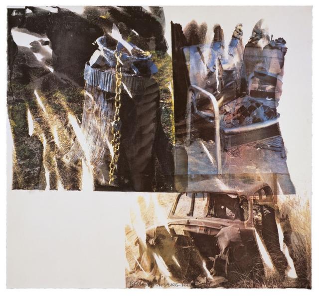 Robert Rauschenberg, 'Relic (Speculations)', 1997, Upsilon Gallery
