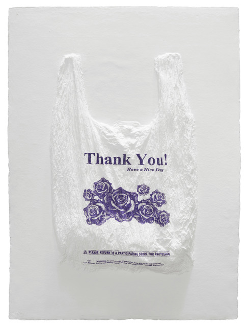 , 'Thank You! Have a Nice Day Plastic Bag,' 2016, Mixografia