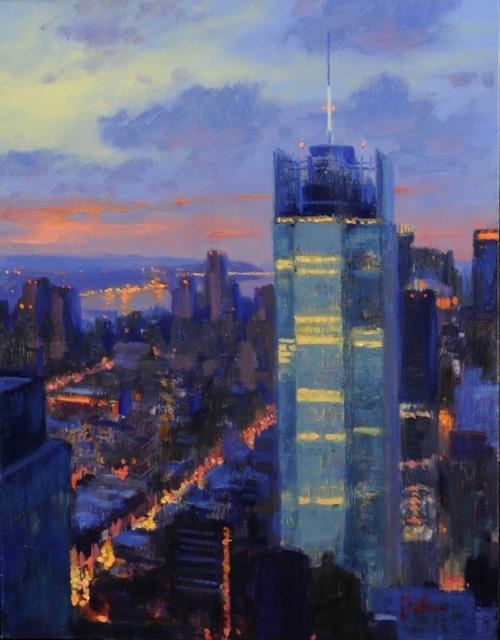 , 'Skyline at Dusk,' 2012, ACA Galleries