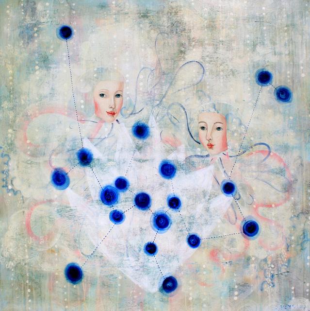 Anne Siems, 'Flowerstar Map', 2017, Russo Lee Gallery