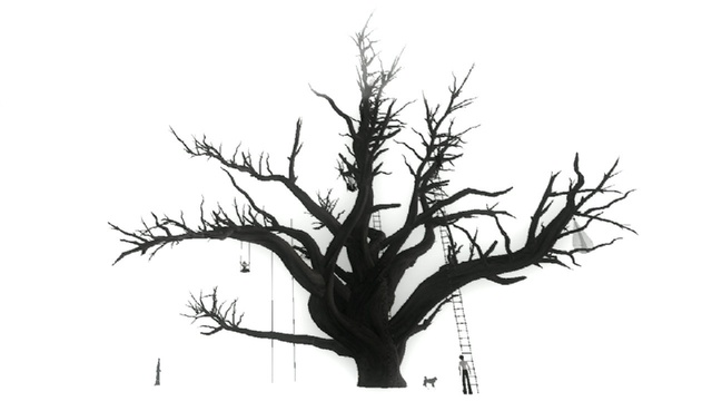 , 'Tree Dance in second life,' 2010, Espace L