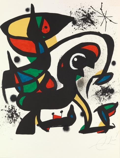 , 'Colpir Sense Nafrar 4 ,' 1981, New River Fine Art