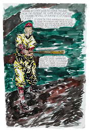 Raymond Pettibon, 'No Title (Having no other...),' 2003, Sotheby's: Contemporary Art Day Auction
