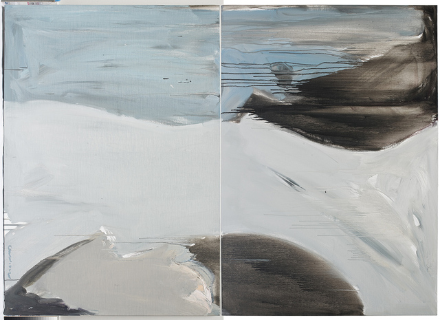 , 'Bleu,' 2017, Galerie Diane de Polignac & Chazournes