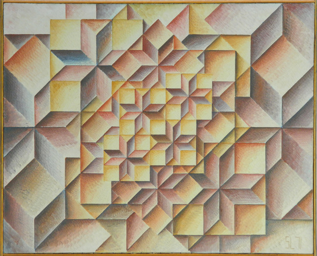 , 'Geometrical Grouping Nr. 220,' 1971, Jecza Gallery