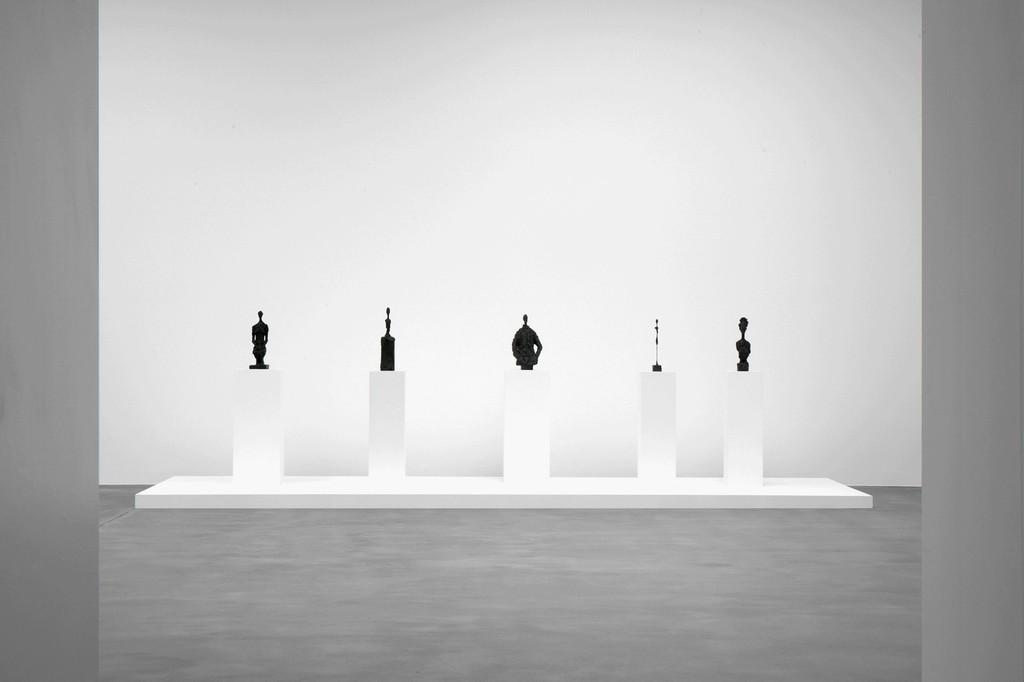 All artworks © Peter Lindbergh. © Succession Alberto Giacometti (Fondation Giacometti + ADAGP) Paris 2017. Courtesy Gagosian. Installation photography: Lucy Dawkins.