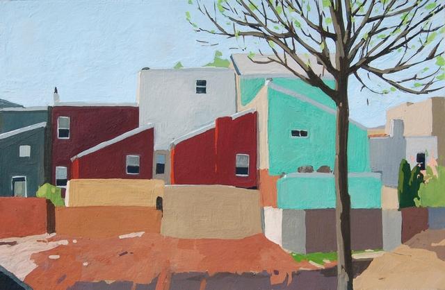 , 'Construction,' 2017, Cerulean Arts