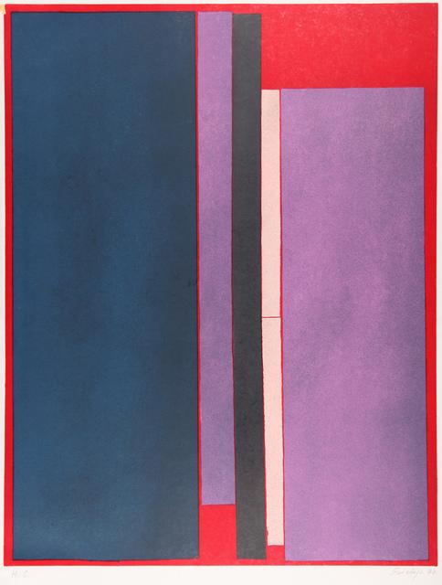 Toti Scialoja, 'Composizione con Colore', 1970, Print, Color lithography, Henze & Ketterer & Triebold