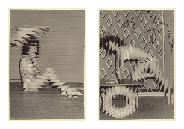 Kensuke Koike, 'Indirect Approach, First & Second Attempt (diptych)', 2013, Photography, Altered found photos, Open Doors Gallery