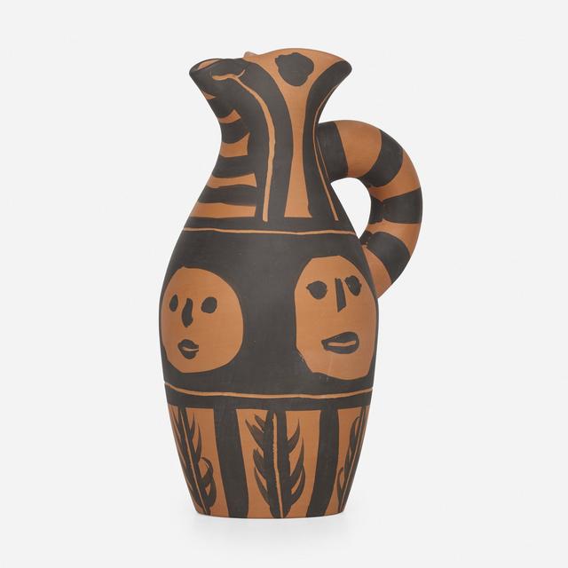 Pablo Picasso, 'Yan Bandeau Noir pitcher', 1963, Rago