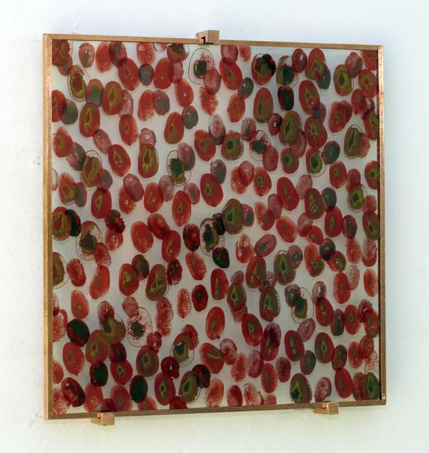 ", '2017.03. ""d'après Silvacane"" Rouge *,' 2017, Galerie Nathalie Obadia"