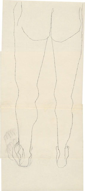 ", '""n.t. (Male Lower Torso)"",' ca. 1952, Daniel Blau"