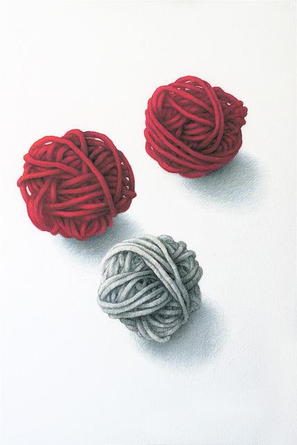 , 'Yarn Trio,' 2012, Clark Gallery