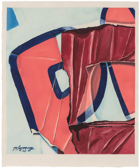 Burhan Dogançay, 'Rosy PI', 1969, Doyle