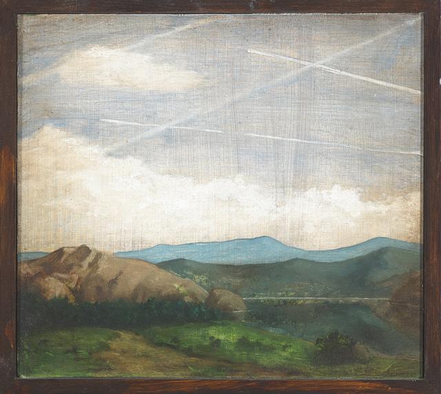Nevan Lahart, 'Constable's cloudy conspiracy II', 2015, Kevin Kavanagh