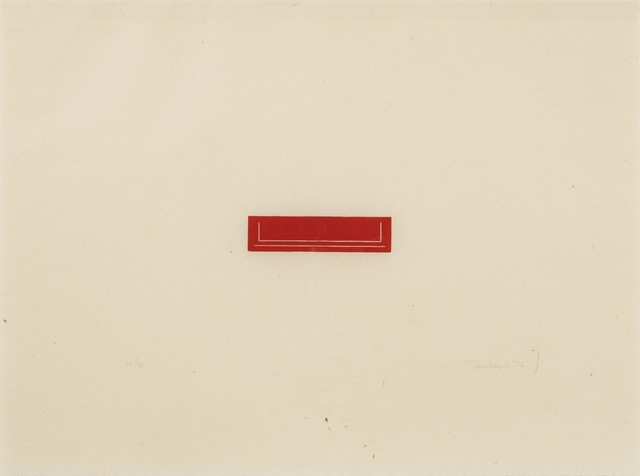Fred Sandback, 'Untitled (Jahn 53)', 1976, Susan Sheehan Gallery