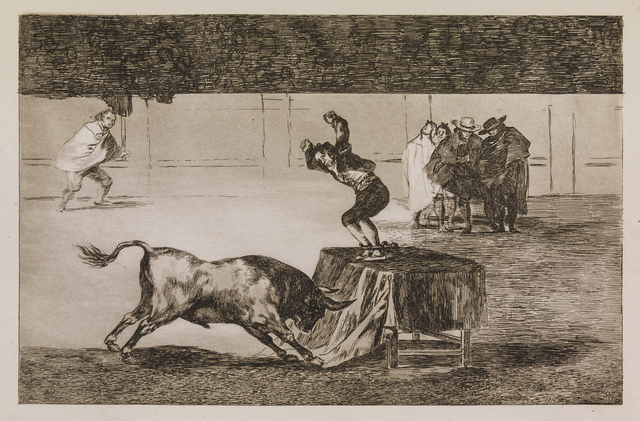 , 'Another madness of his in the same ring,' 1815-1816, Statens Museum for Kunst