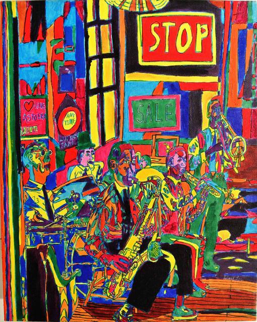 Leland Lee, 'Jazz Night', 2005, Artrue Gallery