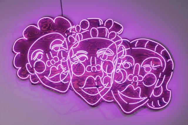 , 'Wash N' Set [Pink],' 2019, Pilar Corrias Gallery