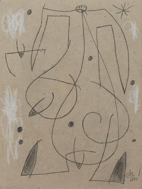 Joan Miró, 'Femme, oiseau, étoile,constellation', 1977, HELENE BAILLY GALLERY