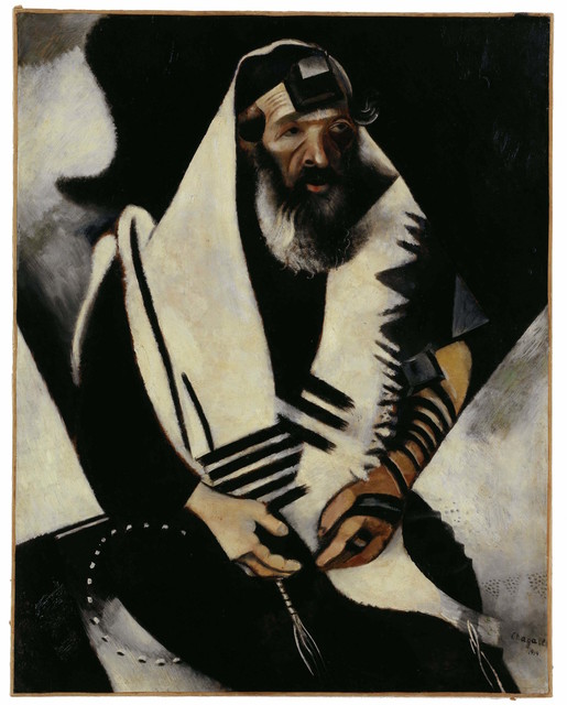 , 'Jew in Black and White,' 1914, Museo Reina Sofía
