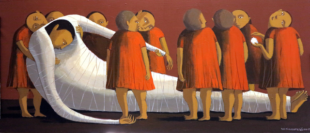 "Annie Kurkdjian, '""Ceremony"" / ""Tören""', 2015, Galeri 77"