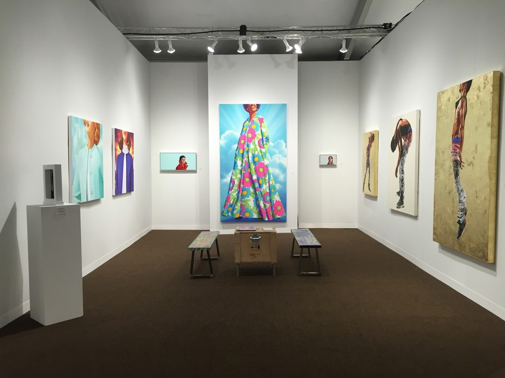 Booth N-107 @ Pulse Miami featuring Fahamu Pecou, James Rieck and Cayce Zavaglia