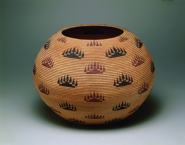 , 'Basket bowl,' 1907, American Federation of Arts