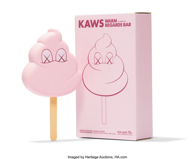 KAWS, 'Warm Regards Bar (Pink)', 2008, Heritage Auctions