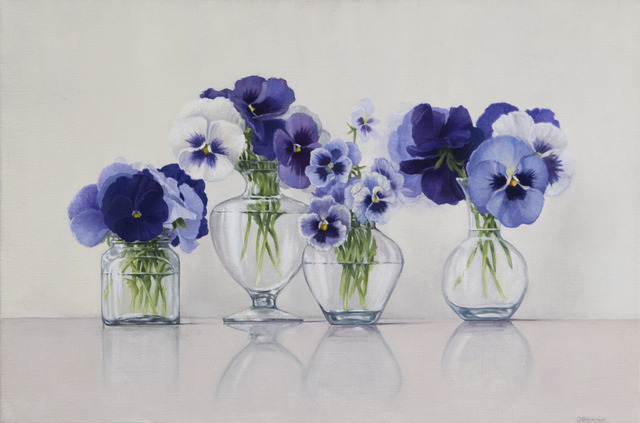 , 'Pansies,' 2010, Clark Gallery