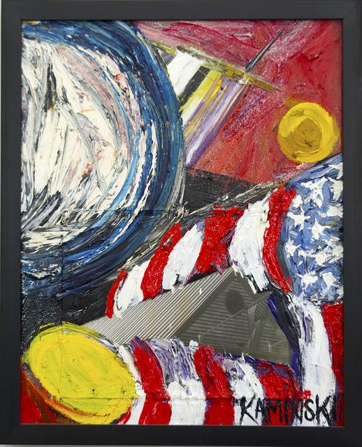 , 'Flag,' 2017, Walter Wickiser Gallery