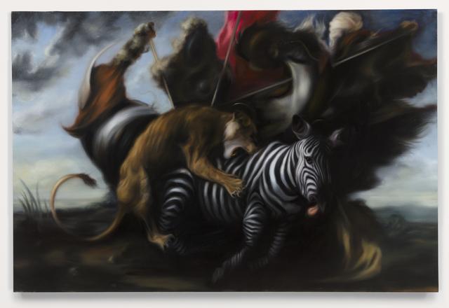 , 'Hunt 3,' 2014, Parafin
