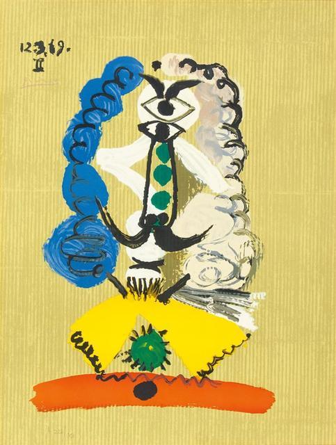 Pablo Picasso, 'Pablo Picasso- Portrait Imaginaires 12.3.69 II', 1969, Van der Vorst- Art