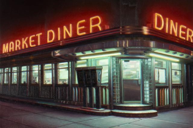 Robert Gniewek, 'Market Diner', 2017, Louis K. Meisel Gallery