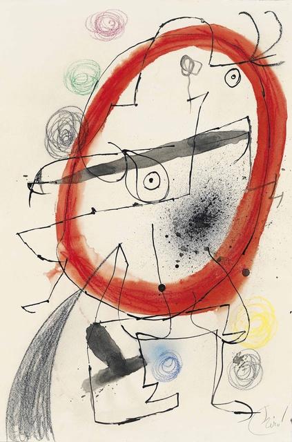 , 'Personnage, Oiseaux,' 1971-1976, Opera Gallery