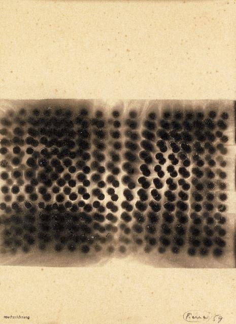 , 'Rauchzeichnung,' 1959, Beck & Eggeling