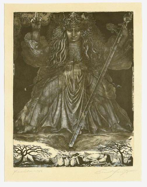 Ernst Fuchs, 'Samson, the Judge', 1960s, Wallector