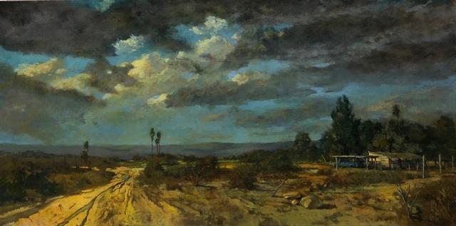 , 'Desert Road,' 2018, George Billis Gallery