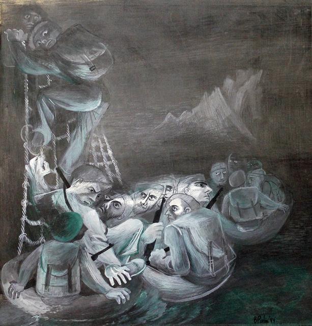 , 'Patrol Disembarks,' 1944, Anna Zorina Gallery