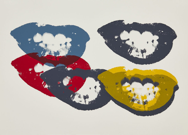 Andy Warhol, 'I Love Your Kiss Forever Forever', Print, Colour silkscreen on Vellum paper, Waddington's