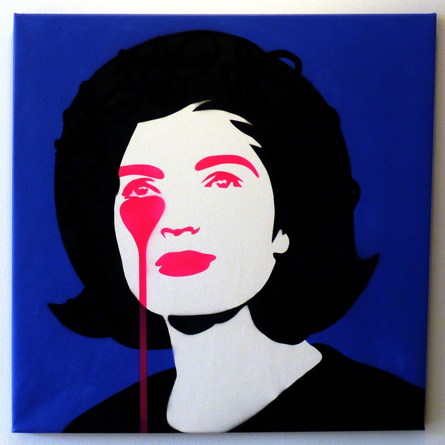 , 'JFK's Nightmare - Jackie Kennedy Black Tags,' 2017, Vertical Gallery