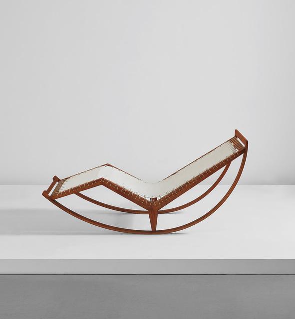 Franco Albini, 'Rocking chaise, model no. PS 16', circa 1959, Phillips