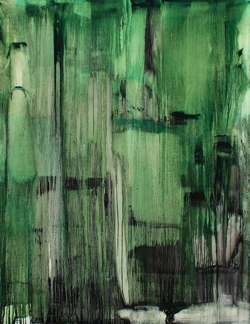 Anastasia Pelias, 'Untitled (green)', 2016, Jonathan Ferrara Gallery