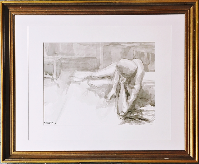 Philip Pearlstein, 'Untitled nude', 1964, Alpha 137 Gallery