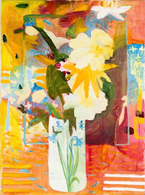 , 'Celandine, Primrose and Wood Anemone,,' 2018, Candida Stevens Gallery
