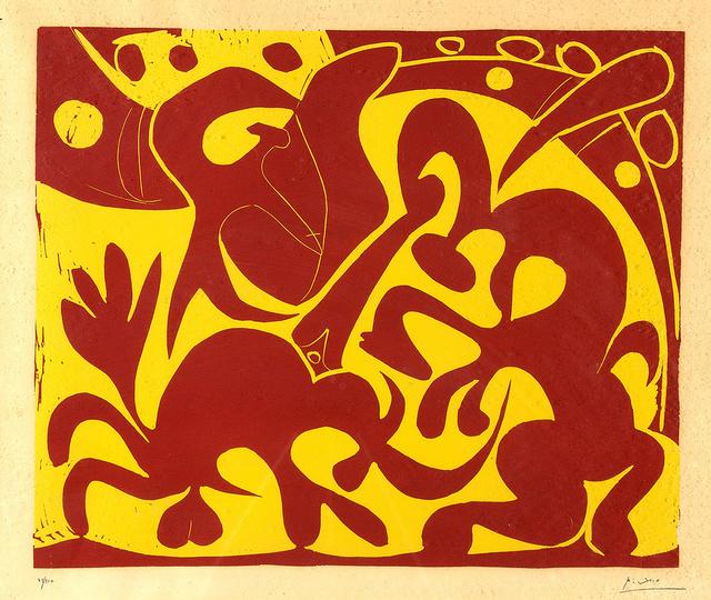 Pablo Picasso, 'La piqué', 1971, Odalys