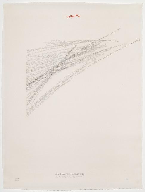 , 'Letter #6,' 2004, Travesia Cuatro