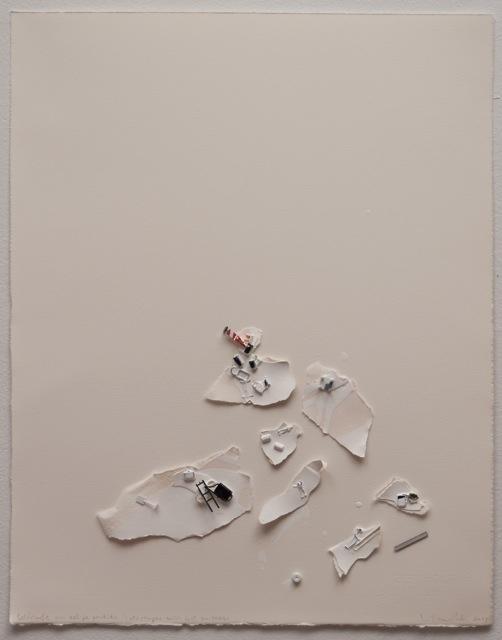 , 'Catastrophe with lost suitcase,' 2014, Espacio Mínimo