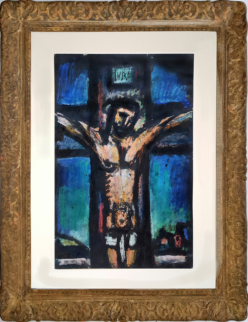 Georges Rouault, 'Crucifixion:  from the  The Lewisohn Collection', 1930, Robert Funk Fine Art