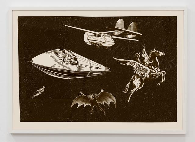 , 'Modos De Volar (Ways of Flying) for Francisco Goya,' 2019, InLiquid